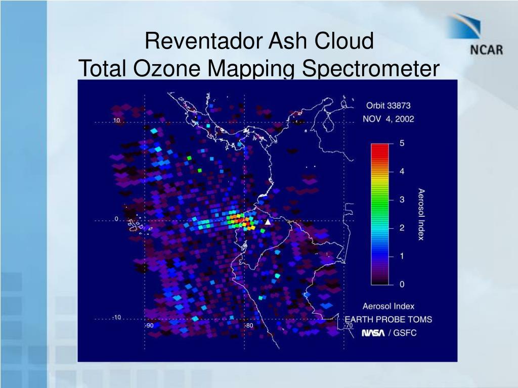 Reventador Ash Cloud