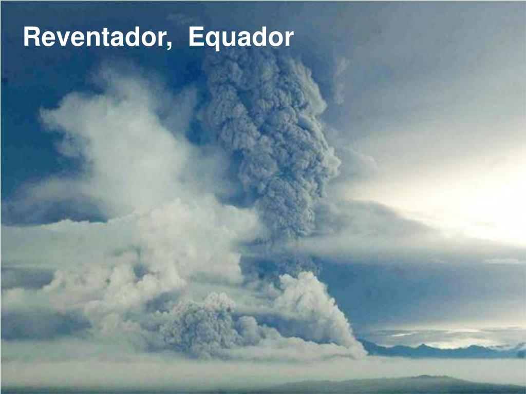 Reventador,  Equador