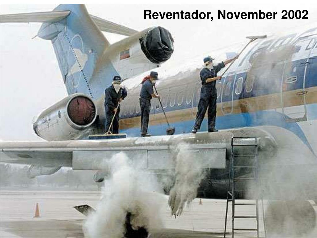 Reventador, November 2002