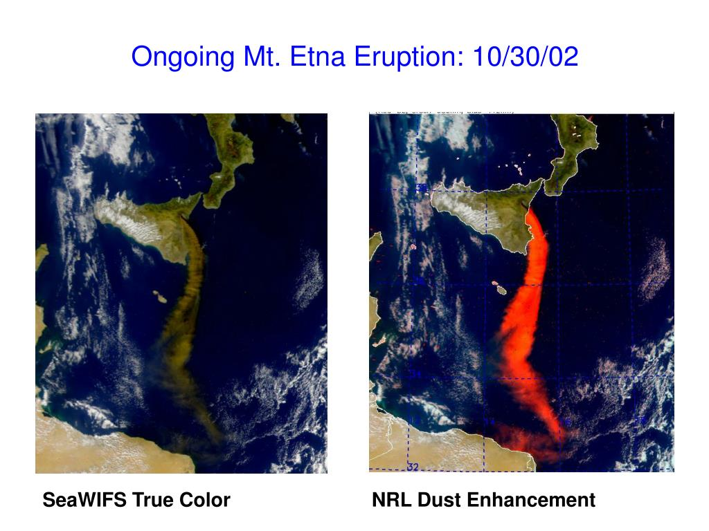 Ongoing Mt. Etna Eruption: 10/30/02