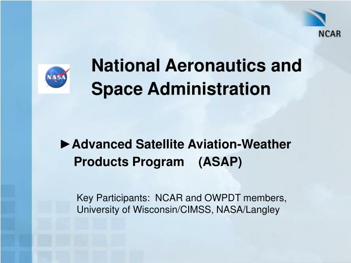 National Aeronautics and