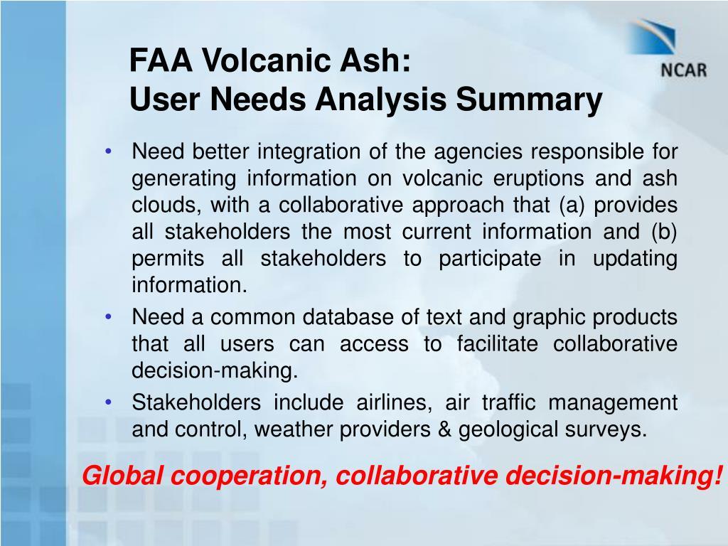 FAA Volcanic Ash: