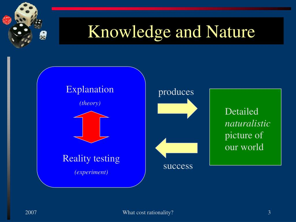 Knowledge and Nature