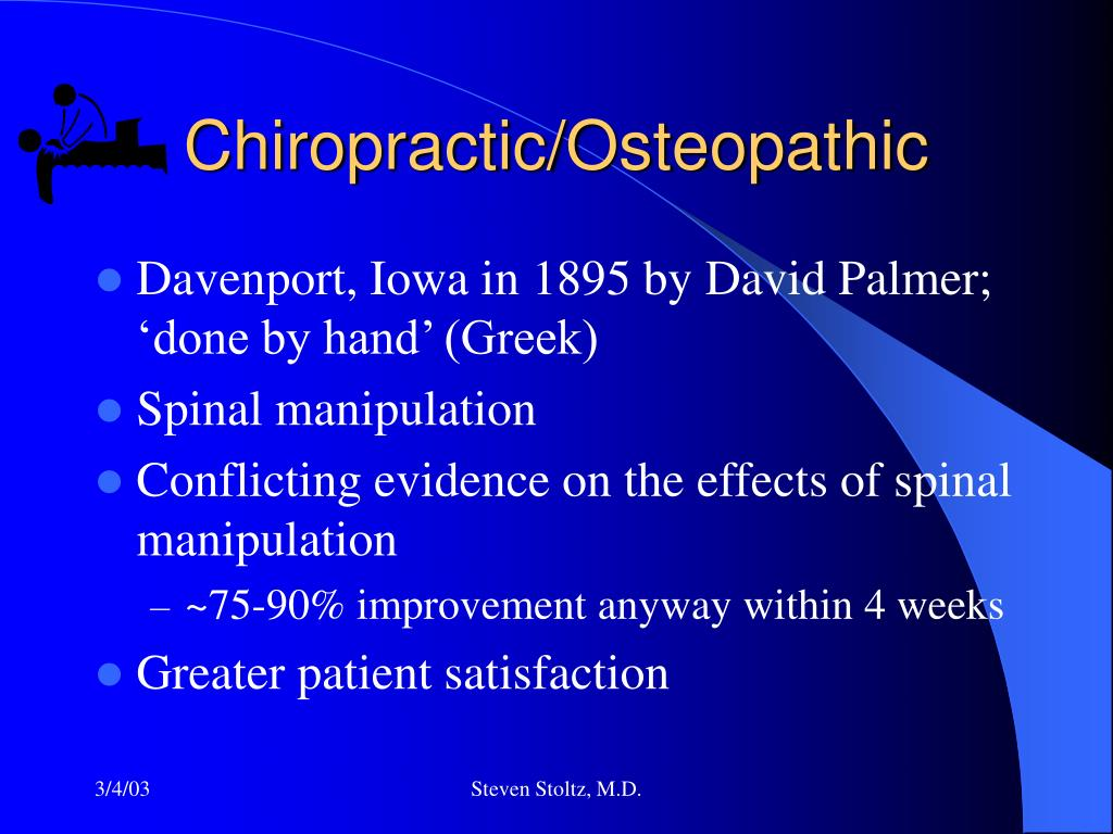 Chiropractic/Osteopathic