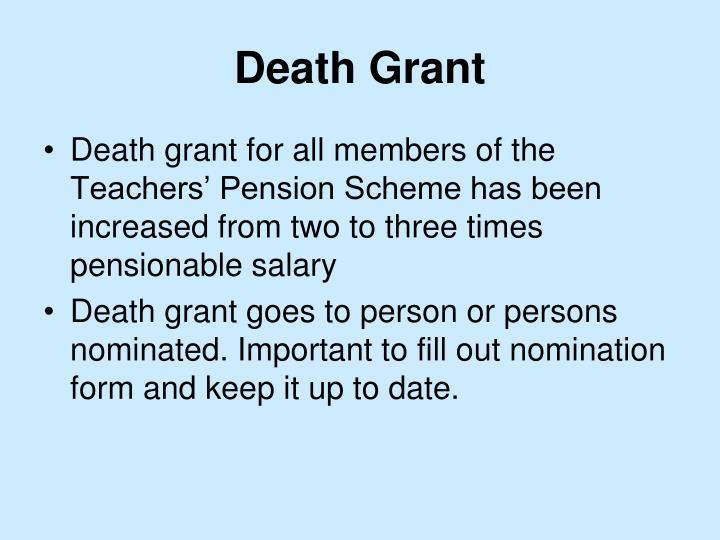 Death Grant