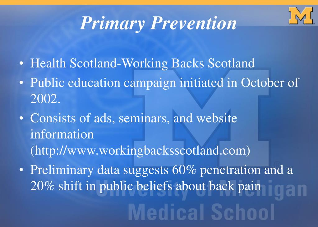 Health Scotland-Working Backs Scotland
