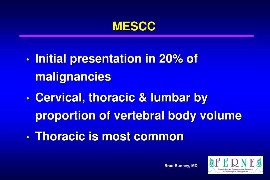 MESCC