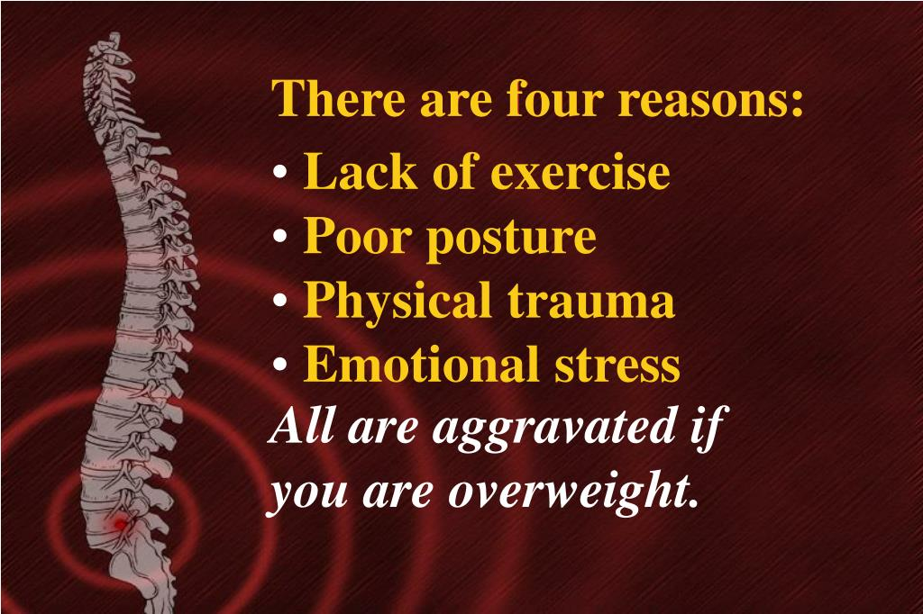 There are four reasons:
