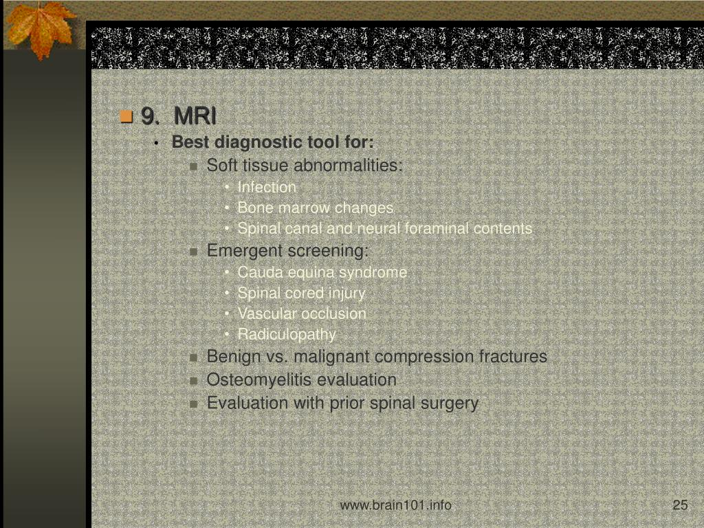 9.  MRI