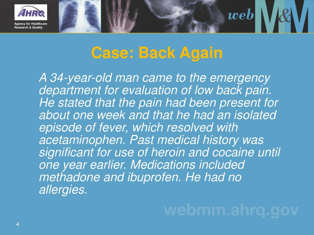 Case: Back Again