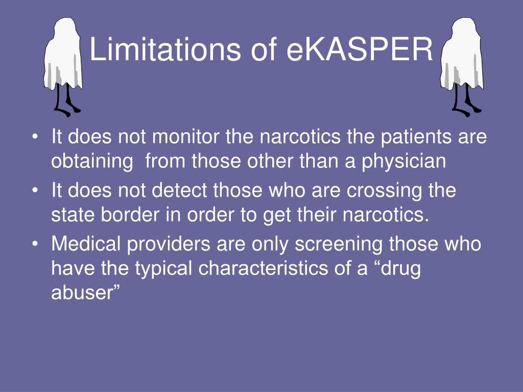 Limitations of eKASPER