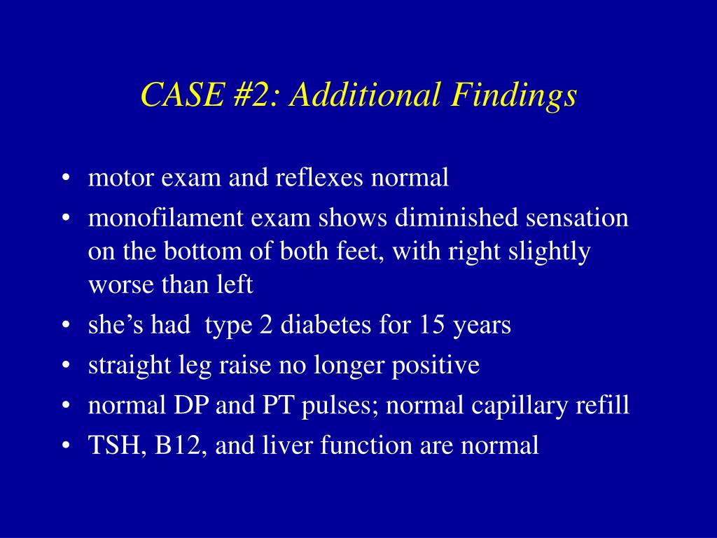 CASE #2: Additional Findings