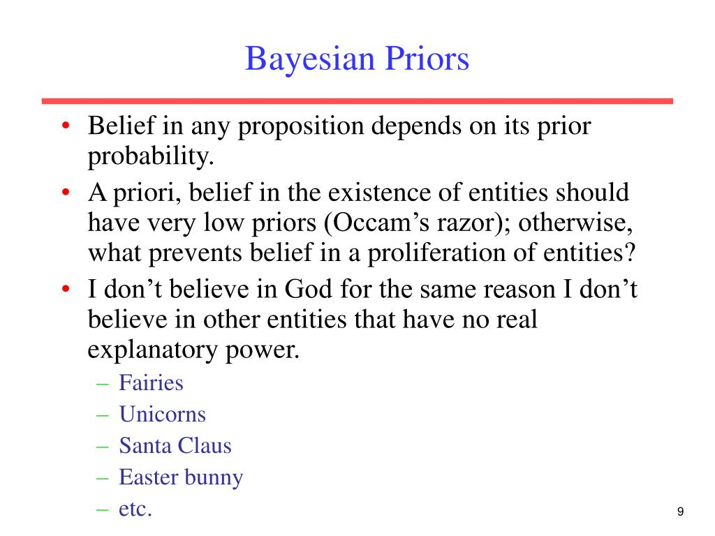 Bayesian Priors