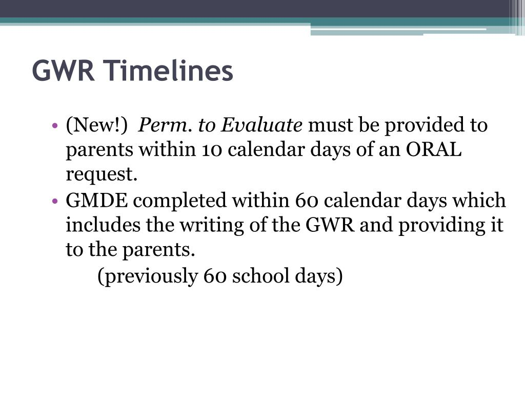 GWR Timelines