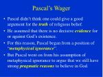 pascal s wager19