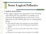 some logical fallacies25