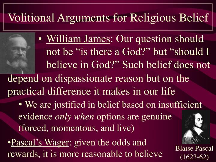Volitional arguments for religious belief