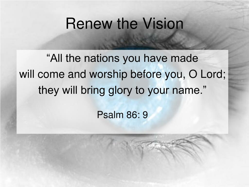 Renew the Vision