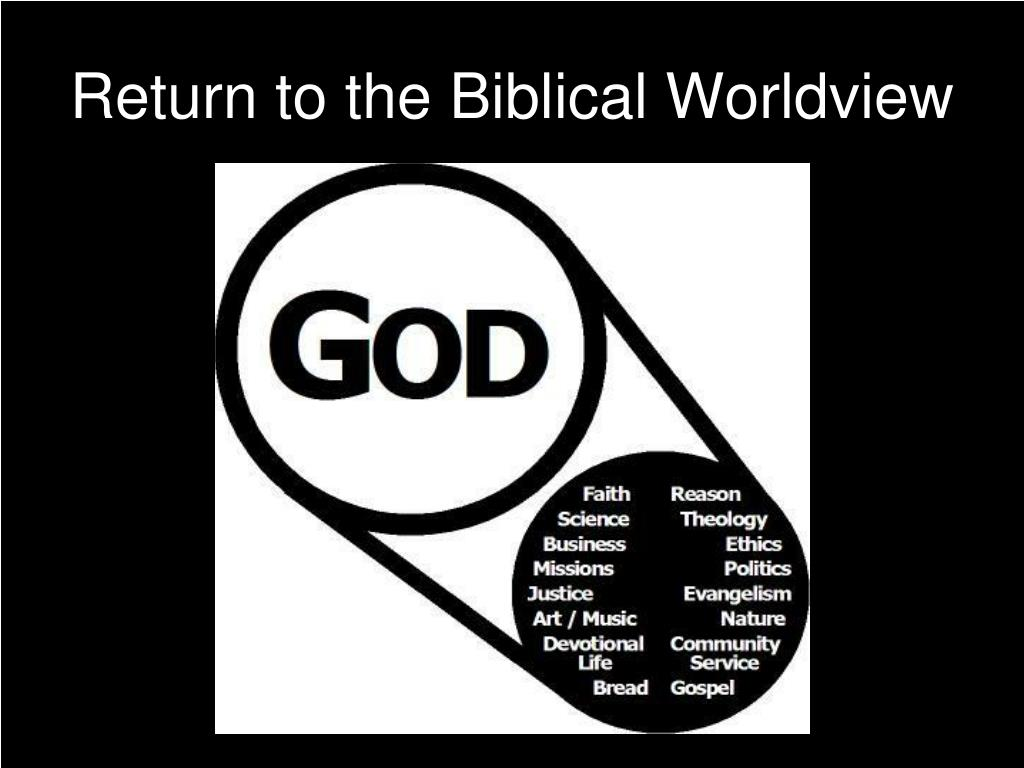 Return to the Biblical Worldview