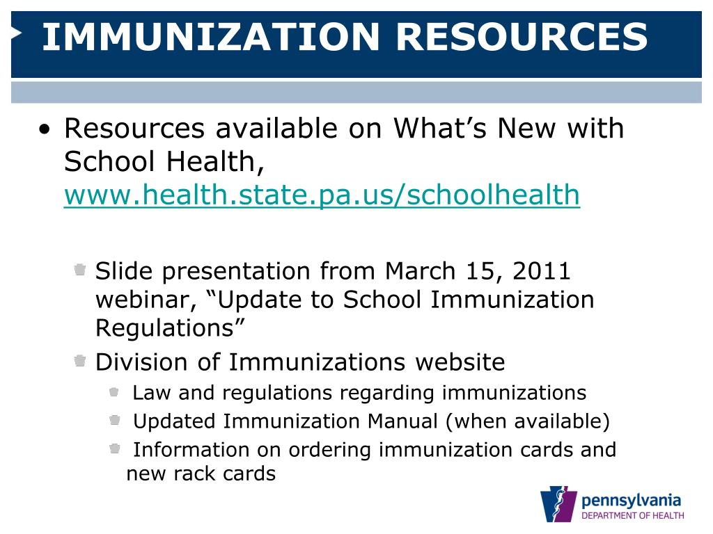 childhood immunization