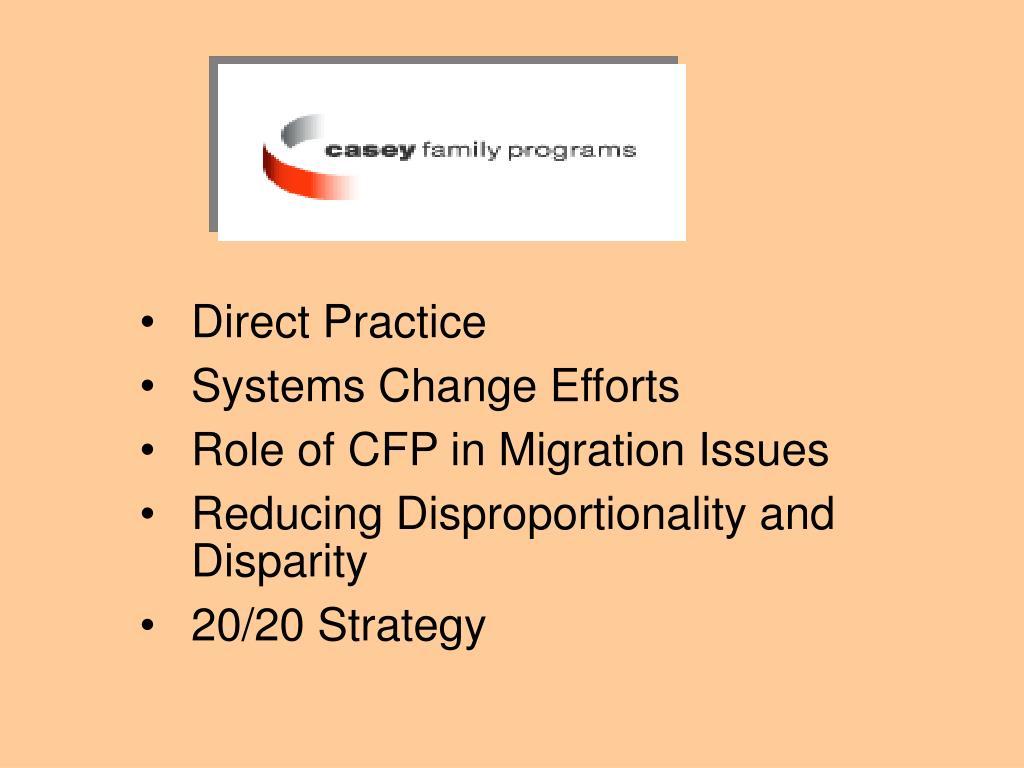 Direct Practice