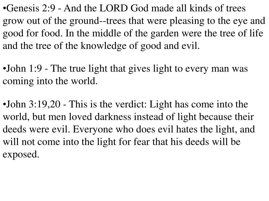 Genesis 2:9 -