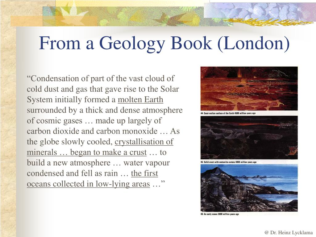 From a Geology Book (London)