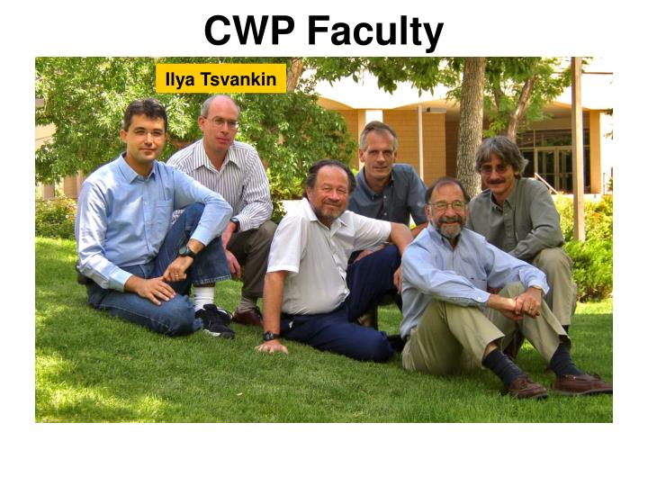 CWP Faculty