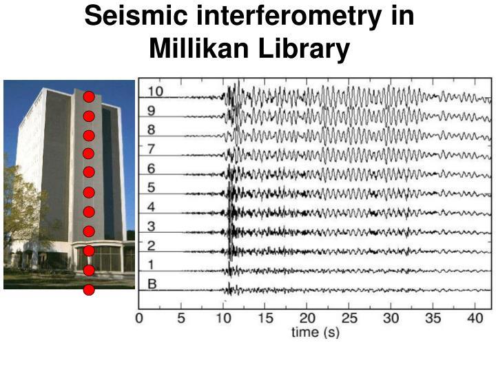 Seismic interferometry in