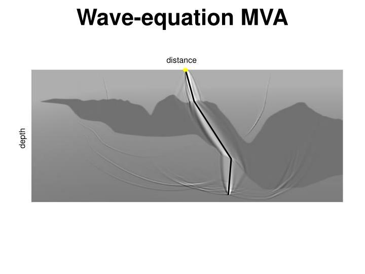 Wave-equation MVA