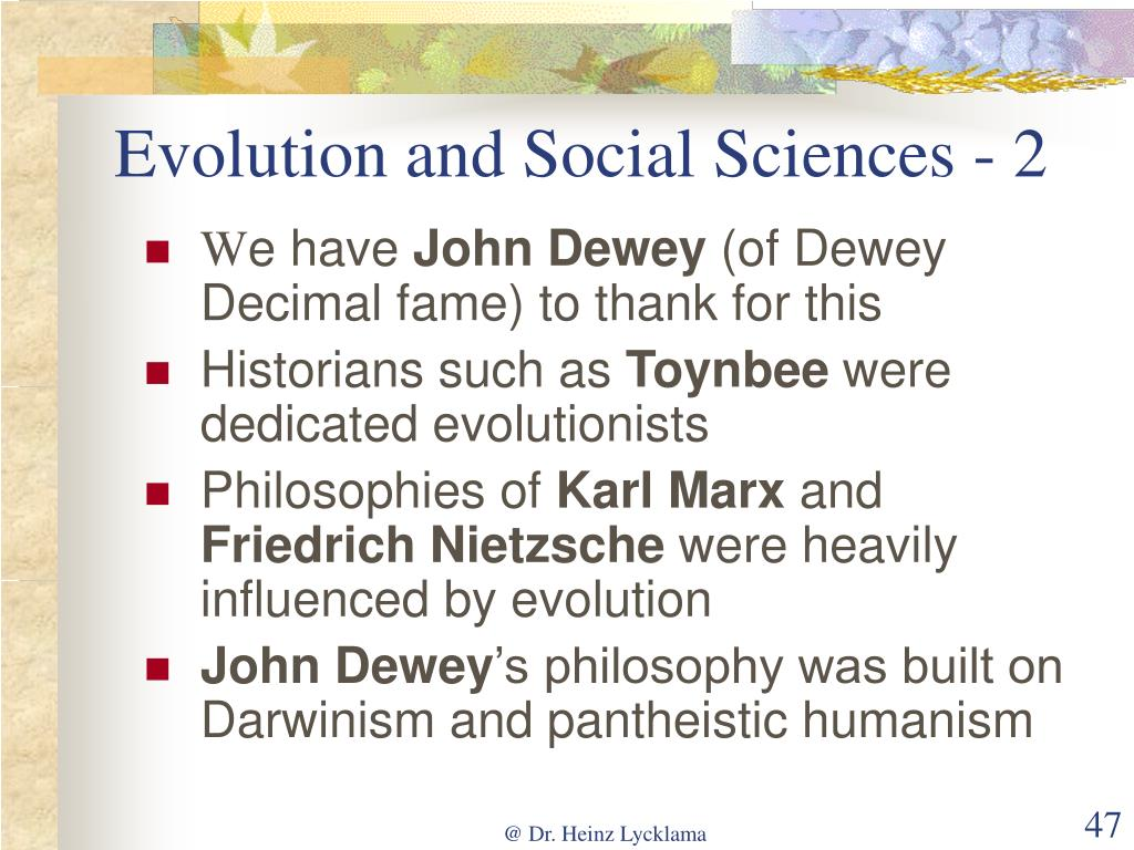 Evolution and Social Sciences - 2