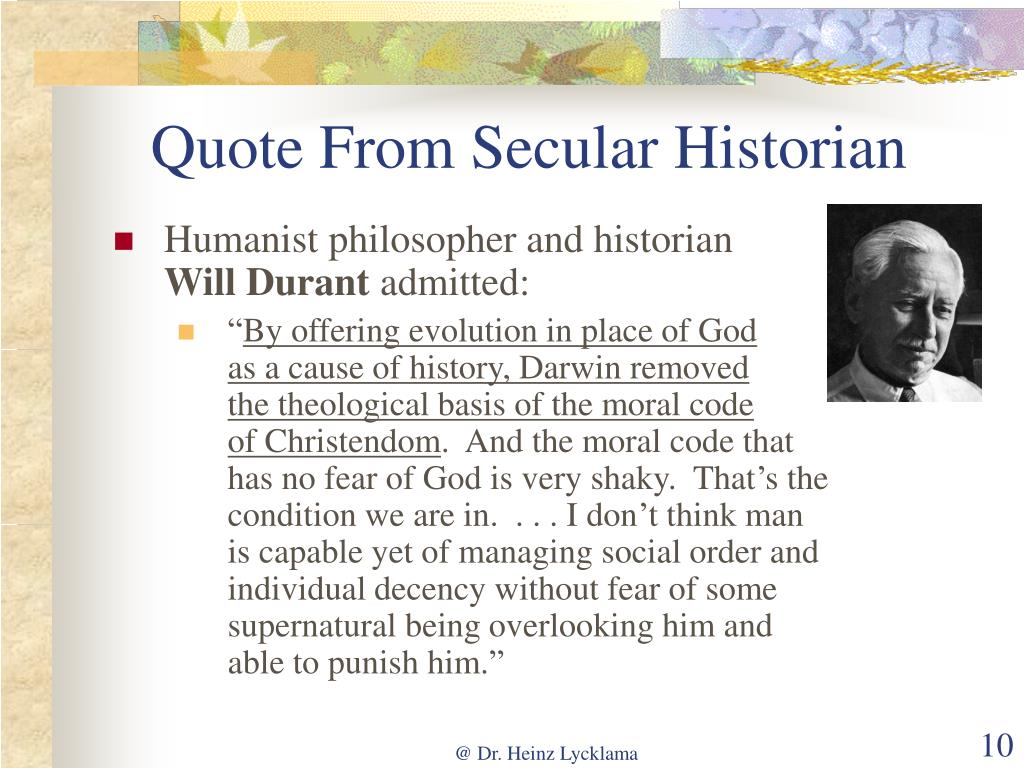 Quote From Secular Historian