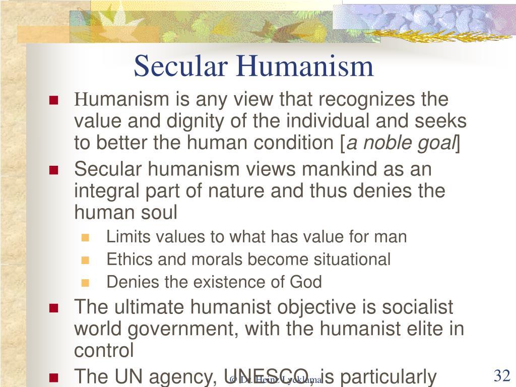 Secular Humanism