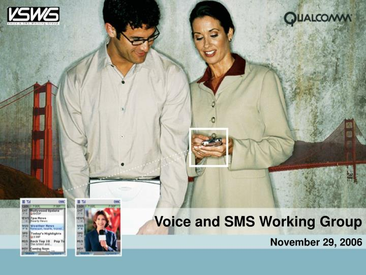 Voice and SMS Working Group