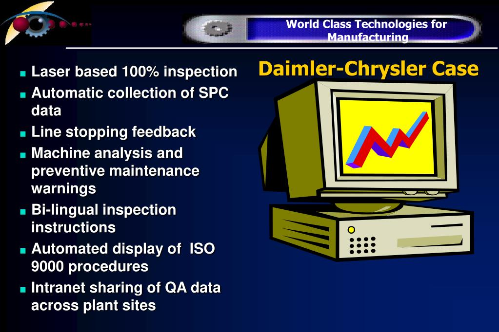 Daimler-Chrysler Case