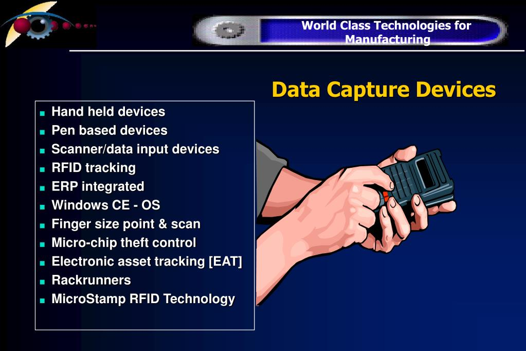Data Capture Devices