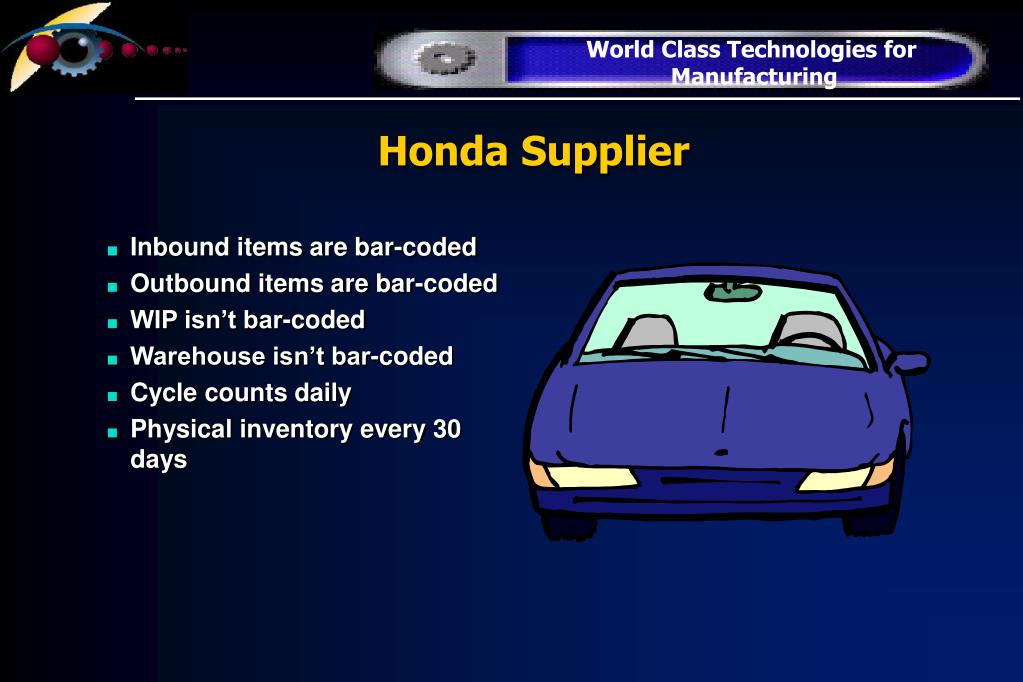 Honda Supplier