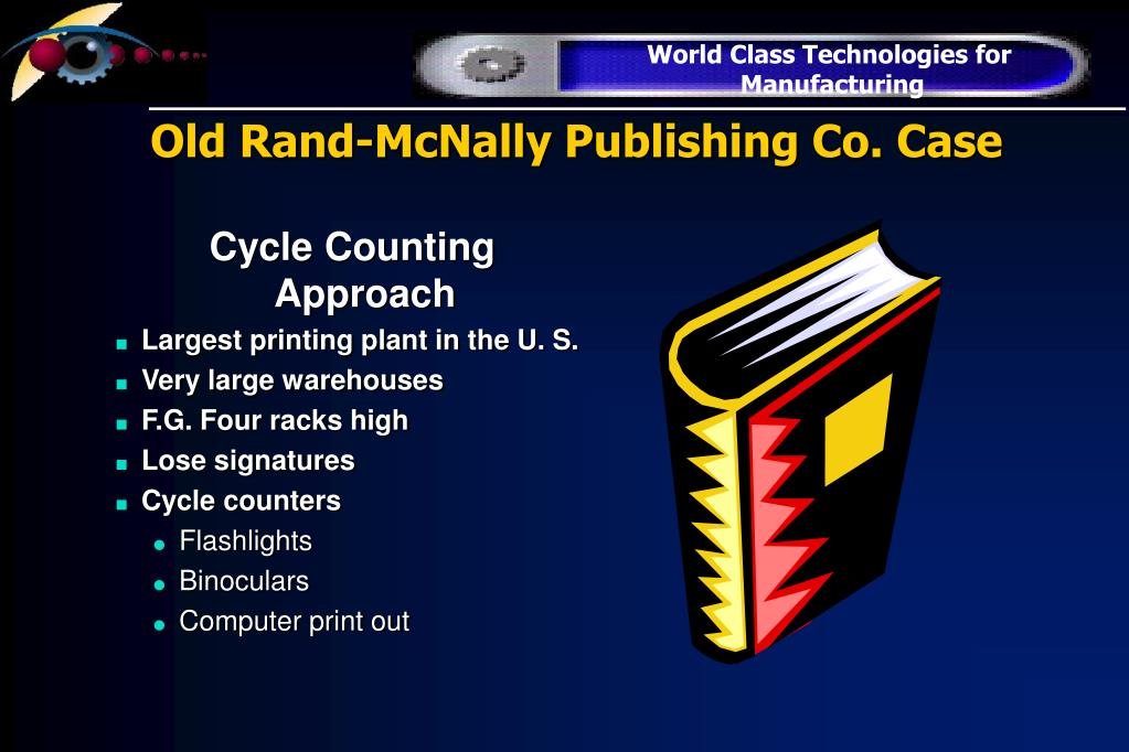 Old Rand-McNally Publishing Co. Case