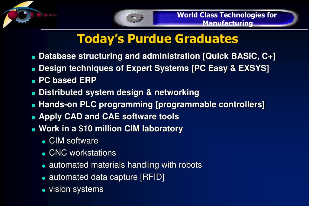 Today's Purdue Graduates