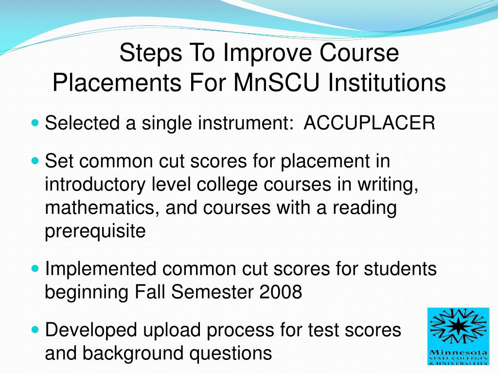 Steps To Improve Course