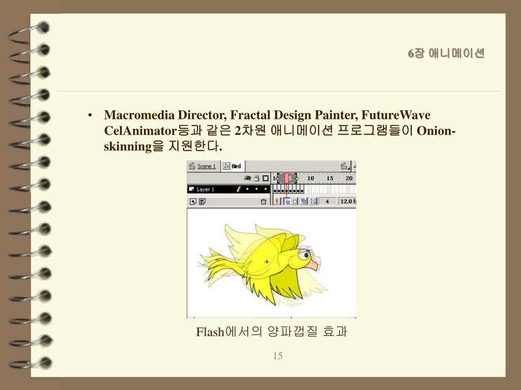 Macromedia Director, Fractal Design Painter, FutureWave CelAnimator