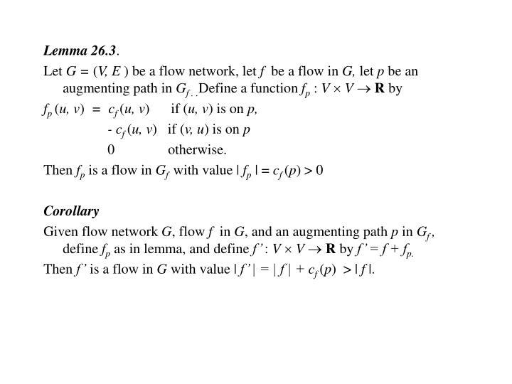 Lemma 26.3