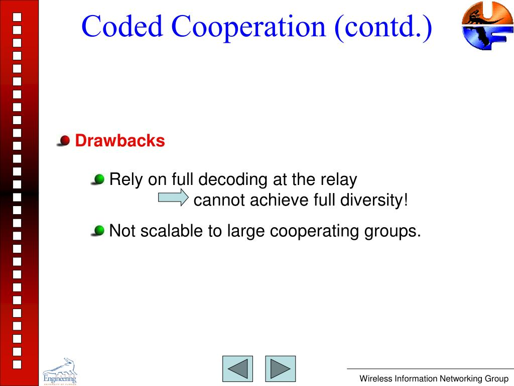 Coded Cooperation (contd.)