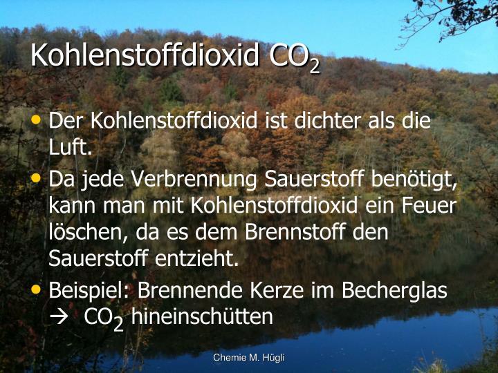 Kohlenstoffdioxid CO