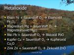 metalloxide