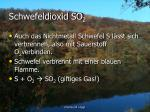 schwefeldioxid so 2