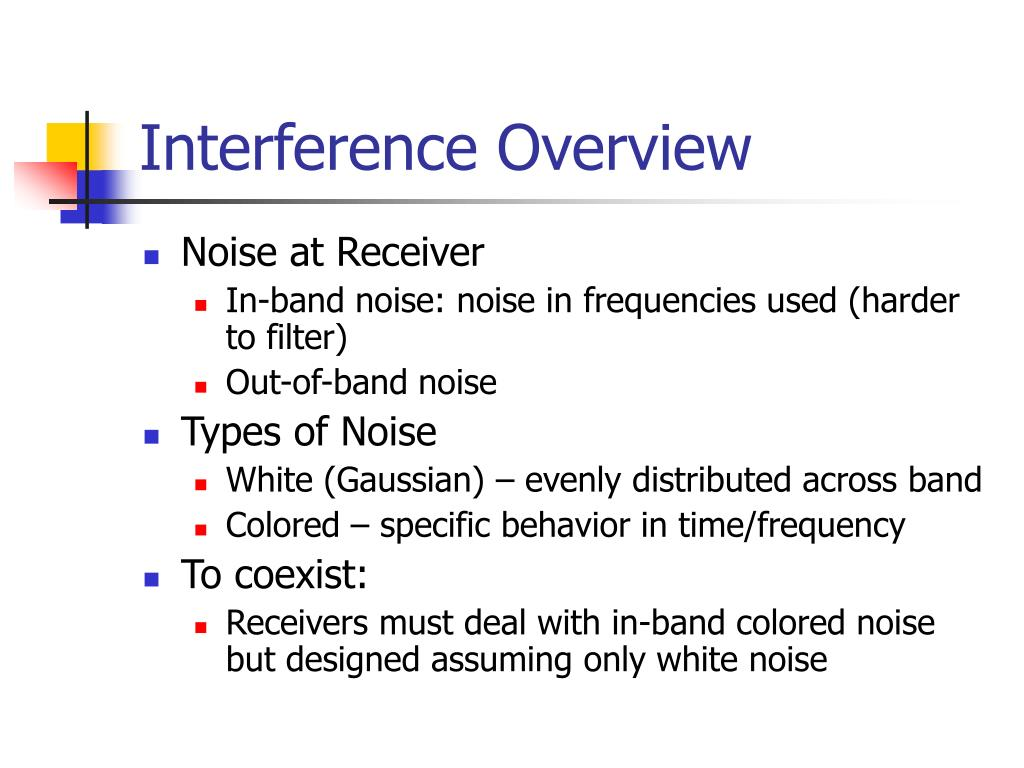 Interference Overview