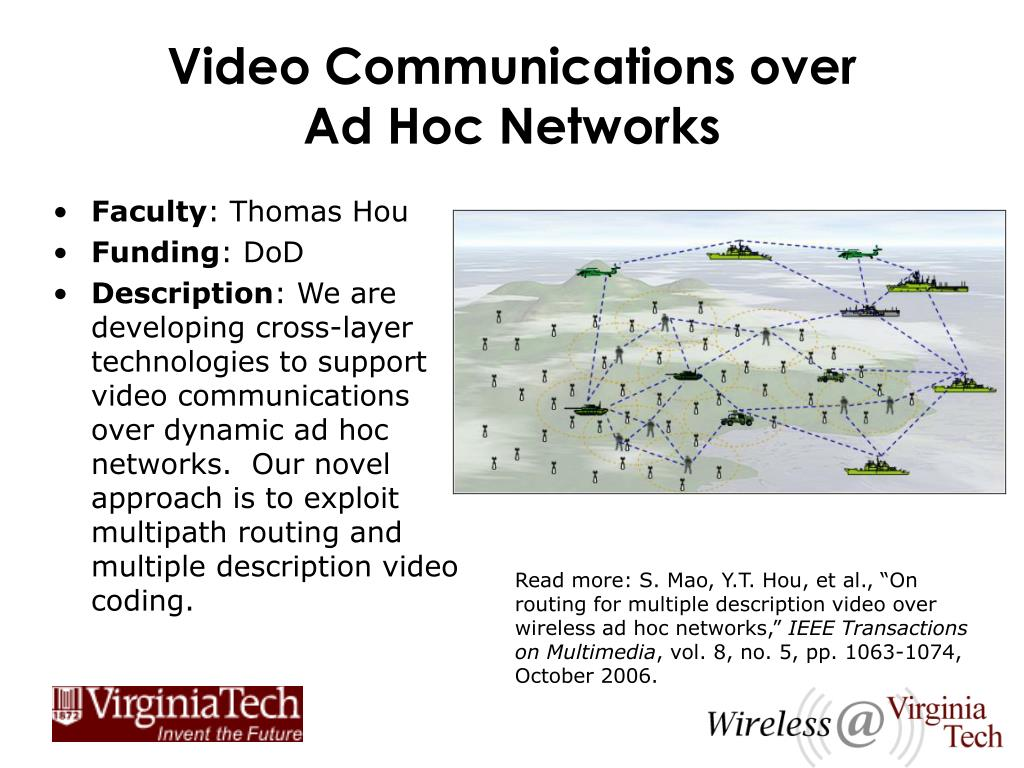 Video Communications over