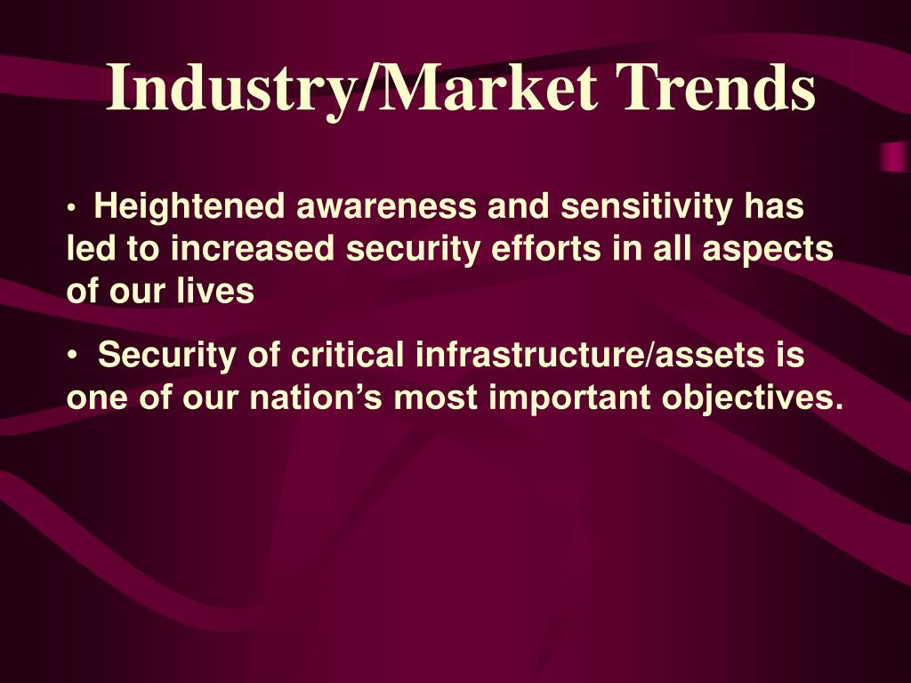 Industry/Market Trends