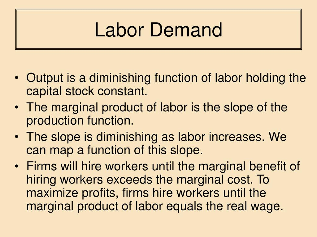 supply and demand of labor in the us Value of estimating labor supply and demand and methods for gathering this   survey use united states bureau of labor statistics (bls) forecasts and data.